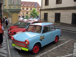 weird little car