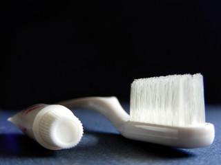 bristles and paste