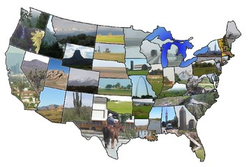 usa picture map
