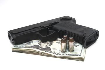 loaded gun money