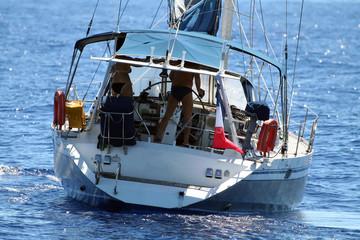 sailboat rear