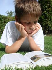 junge liest buch 6