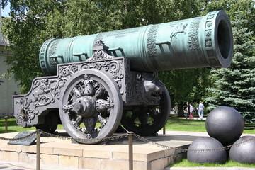 tsar cannon, kremlin, moscow, russia 1