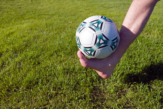foot and ball