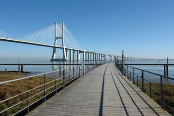 causeway and bridge