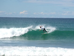 surfing competition.