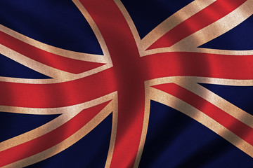 vintage flag of great britain