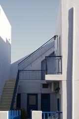 private house in santorini island