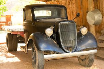 american vintage truck