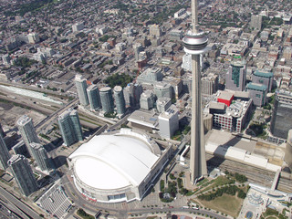 cn tower and skydome