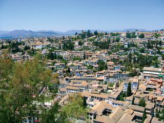 overlooking granada city