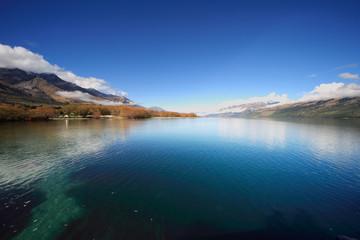 magnificent nz lake