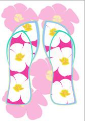 girly flip flops