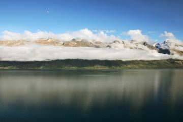 glorious new zealand lake