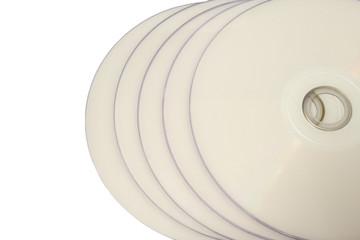 white discs