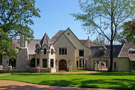 very expensive mansion