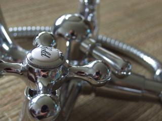 new tap closeup