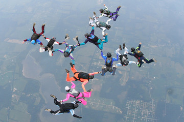 skydive, 12 way