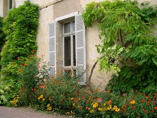 cour de jardin