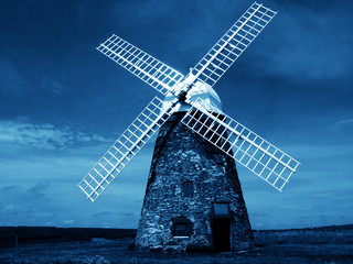 Foto op Canvas Molens windmill