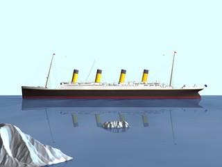 bateau de croisière le titanic