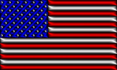 flag of the united states of america - usa 006