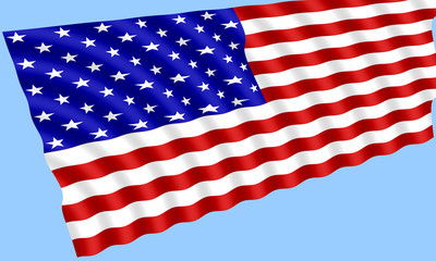 flag of the united states of america - usa 010