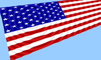 flag of the united states of america - usa 011