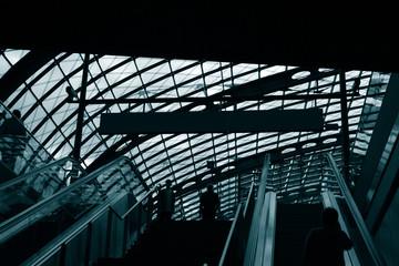 hi-tech escalators