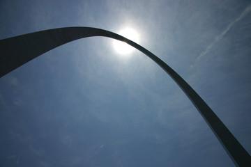 st. louis  gateway arch silhouette