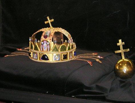 st stephen's crown, hungary