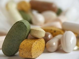 stack of vitamins