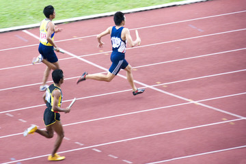 men's 4x400 meters relay