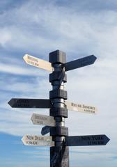 panneaux routiers du monde