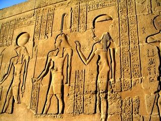 fresque en egypte