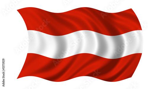 sterreich fahne stockfotos und lizenzfreie bilder auf bild 1375929. Black Bedroom Furniture Sets. Home Design Ideas
