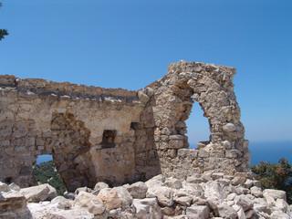 castle in rhodes