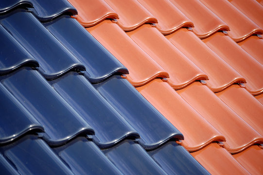dachziegel zweifarbig
