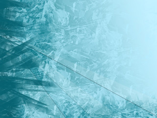 abstract icey background