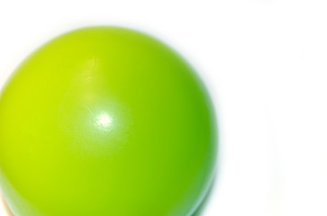 the green ball