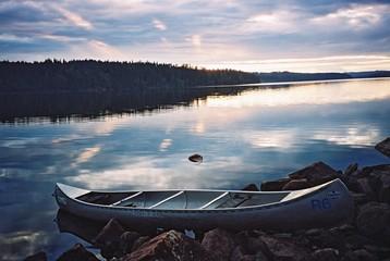 canoe in sweden