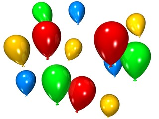 bunte ballons