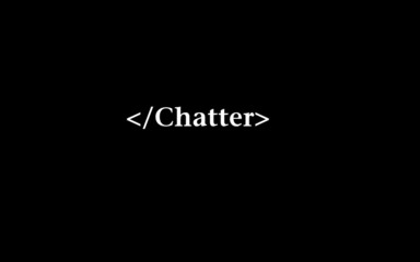 end chatter