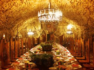 dracula`s dining-room