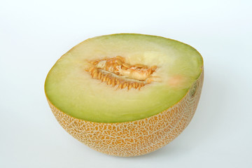 half of a melon