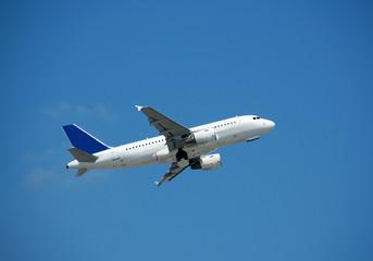 airbus a-319 in flight
