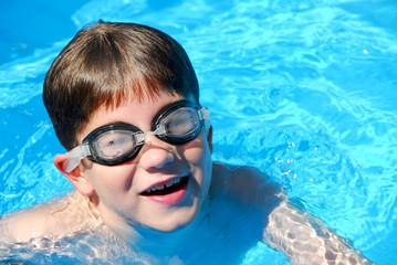 boy child pool
