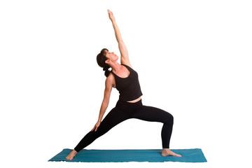 yoga poses and exercice