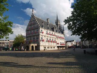 ayuntamiento de gouda, holanda