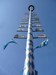maypole in bavaria